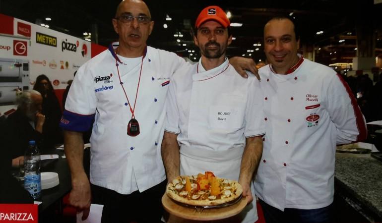 Finale du championnat de France des pizzaiolos représenté par Le Savoyard, pizzeria de Bouaye